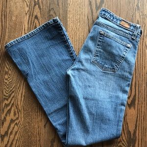 Mossimo denim bootcut jeans, size 11